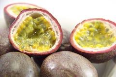 Delicious exotic grenadine fruit Stock Photos