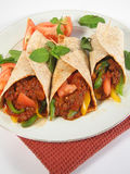 Delicious fajitas Royalty Free Stock Photo