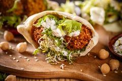 Delicious falafel snack Stock Photos