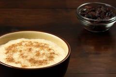 Delicious fancy rice pudding Stock Photos
