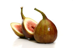 Delicious fig sliced Stock Photography