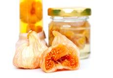 Delicious figs Stock Photos