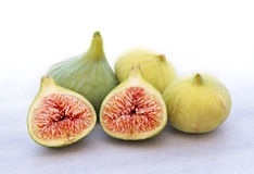 Delicious figs, close up image Stock Photo