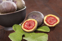 Delicious figs. Royalty Free Stock Images
