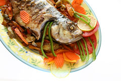 Delicious fish Royalty Free Stock Images