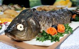 Delicious fish dish Stock Image