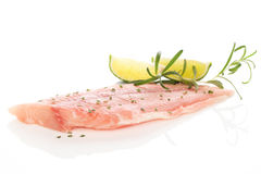 Delicious fish fillet. Royalty Free Stock Photography