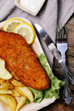 Delicious fish fillet Royalty Free Stock Photos