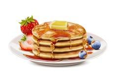 Free Delicious Fluffy Pancake Stock Photos - 120075793