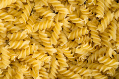 Delicious food background of yellow pasta Royalty Free Stock Photos