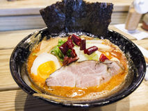 The delicious food - Ramen Royalty Free Stock Images