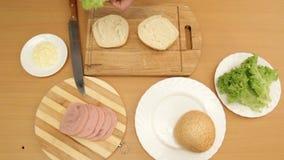 Delicious Food stock footage