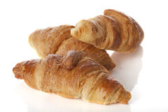 Delicious french croissants Stock Photography