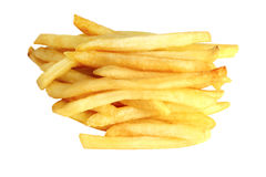 Delicious french fries Royalty Free Stock Images
