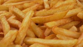 Delicious french fries close up