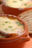 Delicious French Onion Soup Royalty Free Stock Images