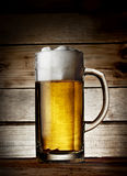 Delicious fresh beer mug Royalty Free Stock Image