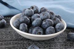 Delicious fresh blueberries Stock Photo