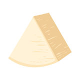 Delicious fresh cheese variety italian dinner icon flat dairy food and milk camembert piece delicatessen gouda meal Royalty Free Stock Image