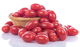 Delicious fresh cherry tomatoes royalty free stock photography