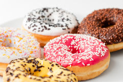 Delicious fresh Donuts Stock Photography