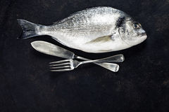 Delicious fresh fish Stock Photo