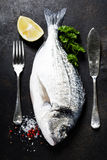 Delicious fresh fish Royalty Free Stock Images