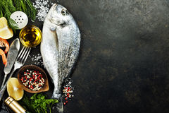 Delicious fresh fish Royalty Free Stock Image