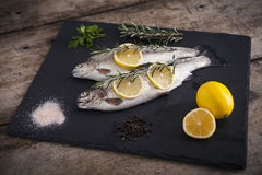 Delicious fresh fish Royalty Free Stock Photo