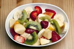 Delicious fresh fruit. Delicious fresh food, fruit salad Royalty Free Stock Photos