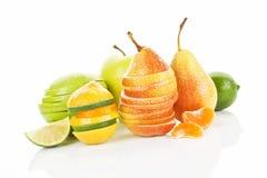 Delicious fresh fruit background. Royalty Free Stock Photo