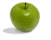 Delicious fresh green apple Royalty Free Stock Images