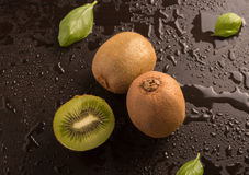 Delicious fresh kiwi fruit Royalty Free Stock Photos