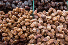 Delicious fresh organic dates in a market. Delicious fresh organic dates in a market Stock Photography