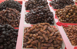 Delicious fresh organic dates in a market. Delicious fresh organic dates in a market Stock Photo