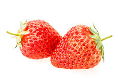 Delicious fresh red Strawberry fruits Stock Photo