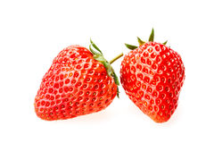 Delicious fresh red Strawberry fruits Royalty Free Stock Photos