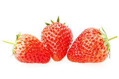 Delicious fresh red Strawberry fruits Royalty Free Stock Images