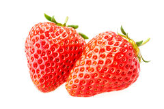 Delicious fresh red Strawberry fruits Royalty Free Stock Image