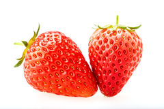 Delicious fresh red Strawberry fruits Stock Photography