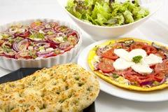 Delicious fresh salad Stock Photos