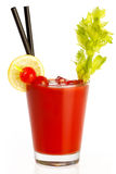 Delicious Fresh Tomato Juice. Healthy Dieting Concept Stock Photos