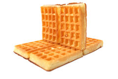 Delicious fresh waffles Royalty Free Stock Photo