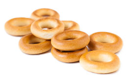 Delicious freshly baked bagels Stock Image
