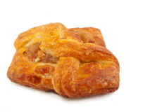 Delicious freshly baked pastry filled  ruits Royalty Free Stock Photos