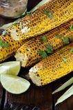 Grilled corn cobs Royalty Free Stock Photography