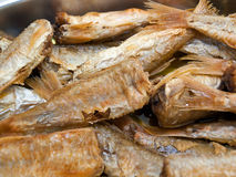 Delicious fried fish Royalty Free Stock Photo