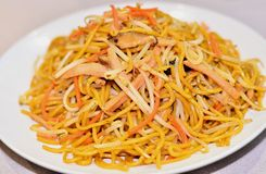 Delicious fried noodle Royalty Free Stock Photos