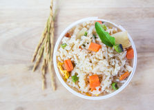 Delicious fried rice Royalty Free Stock Photos