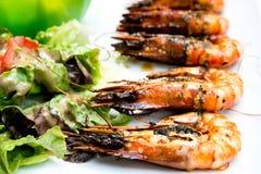 Delicious fried shrimp Royalty Free Stock Photos